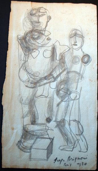 Avantgardistische Figuren, 1930 - Serge Brignoni