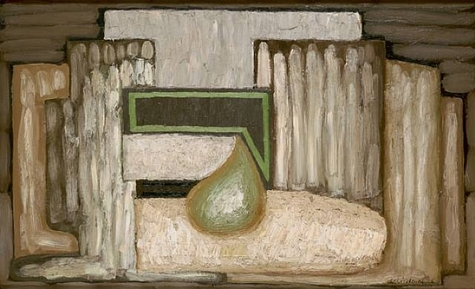 Still Life with Pear N°1, 1926 - Serge Charchoune