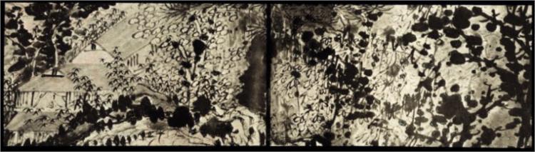 10,000 Ugly Inkblots, 1685 - Shitao
