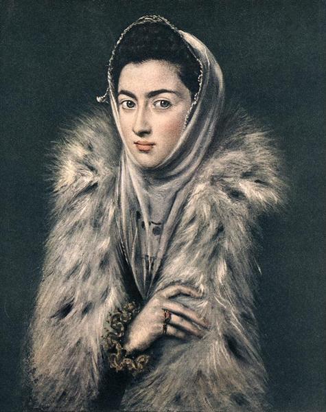 Portrait of Caterina Micaela of Spain, 1578 - Sofonisba Anguissola