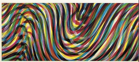 Famous Abstract Line Art : Horizontal wavy lines sol lewitt wikiart