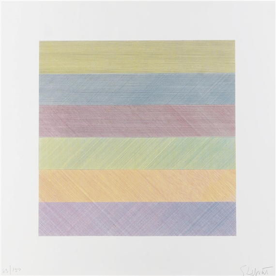 Untitled (from Composite Series), 1970 - Sol LeWitt
