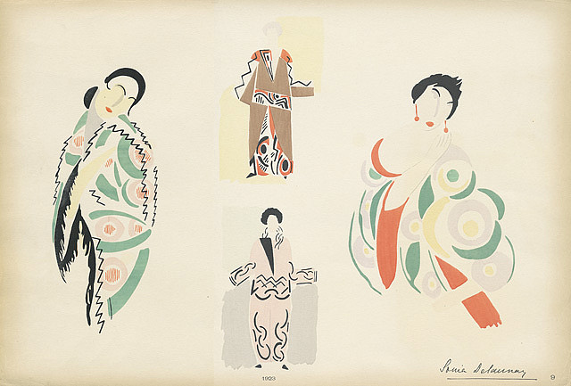 Fashion Illustration - Sonia Delaunay