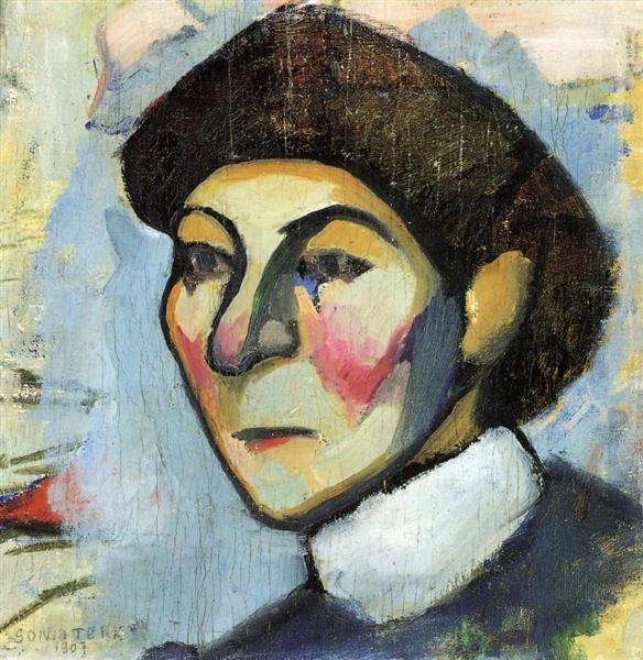 Portrait of Philomene, 1907 - Sonia Delaunay