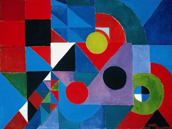 Rhythm Colour - Sonia Delaunay