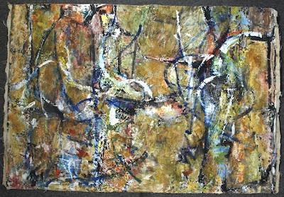 Abstract, 1954 - Соня Рапопорт