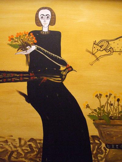 The Black Flower Girl - Sorin Ilfoveanu