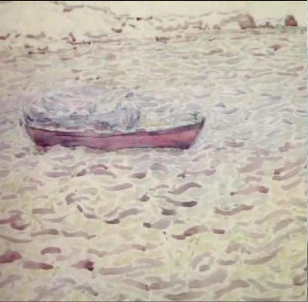 Boat, 1948 - Spyros Papaloukas
