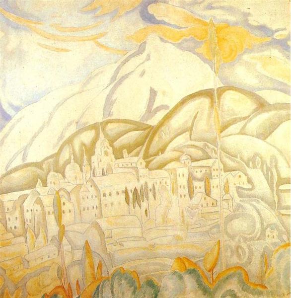 Skete of Agios Andreas, 1924 - Spyros Papaloukas