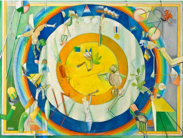 The Wheel of Life, 1974 - Stanley Pinker