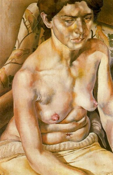 Seated Nude - Stanley Spencer
