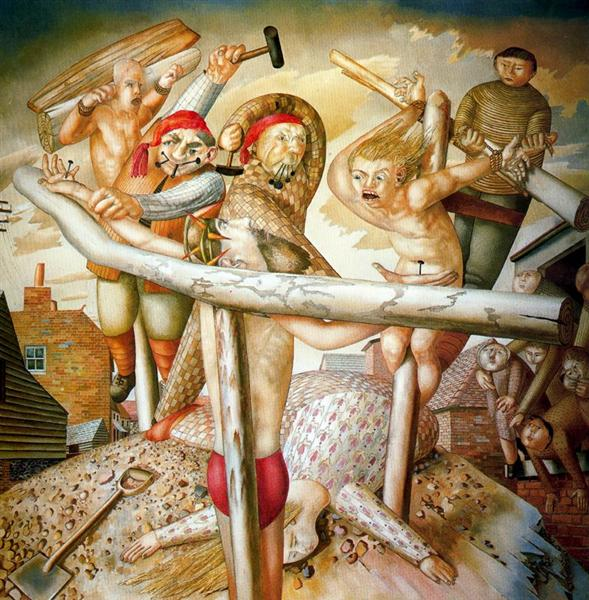 The Crucifixion, 1958 - Stanley Spencer