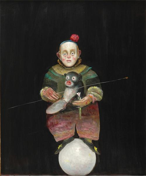 Dwarf with Monkey, 2005 - Штефан Кюлтиа