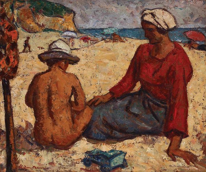 Balchik Beach, 1926 - Stefan Dimitrescu