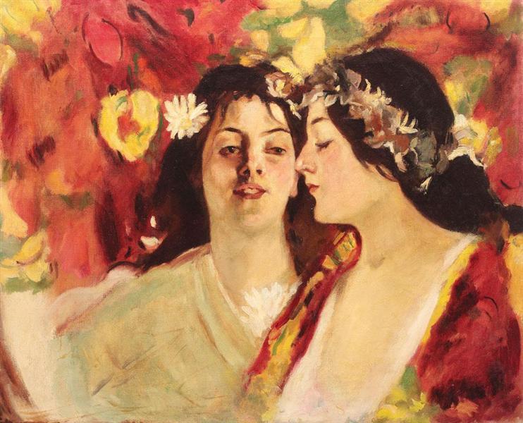 Spring (Two Muses), 1899 - Stefan Luchian
