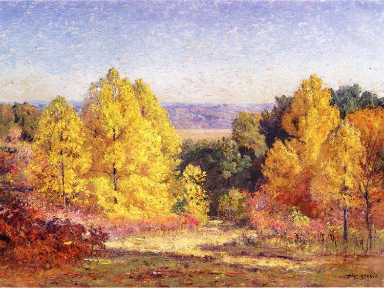The Poplars, 1914 - T. C. Steele