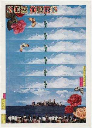 New York, 1968 - Tadanori Yokoo
