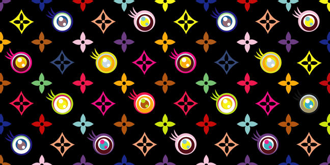 Eye Love Superflat (Black), 2003 - Takashi Murakami