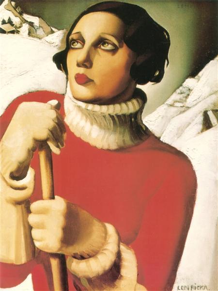Saint Moritz, 1929 - Tamara de Lempicka