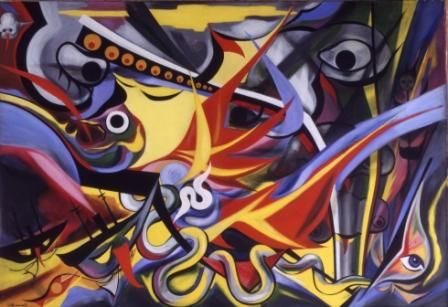 Men Aflame, 1955 - Taro Okamoto