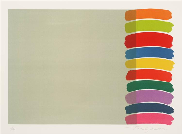 Stacked on the Side, 1970 - Terry Frost