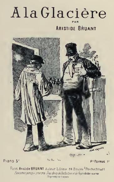 A La Glaciere, 1885 - Теофіль Стейнлен