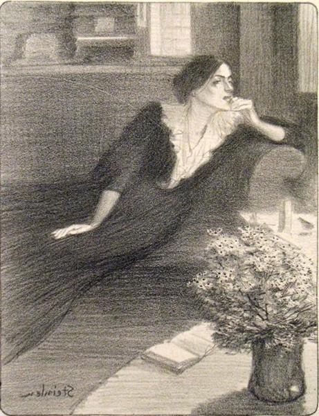 Chanson Crepusculaire, 1897 - Theophile Steinlen