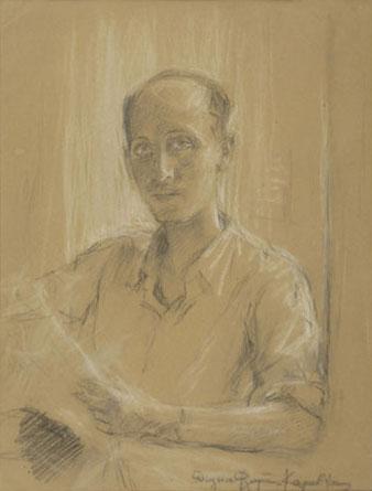 Portrait of Yannis Tsarouchis, 1942 - Thalia Flora-Karavia