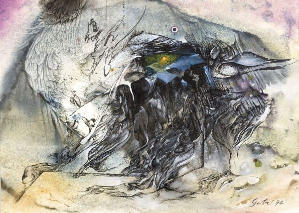 Dans l'œil du cyclone, 1974 - Theo Gerber