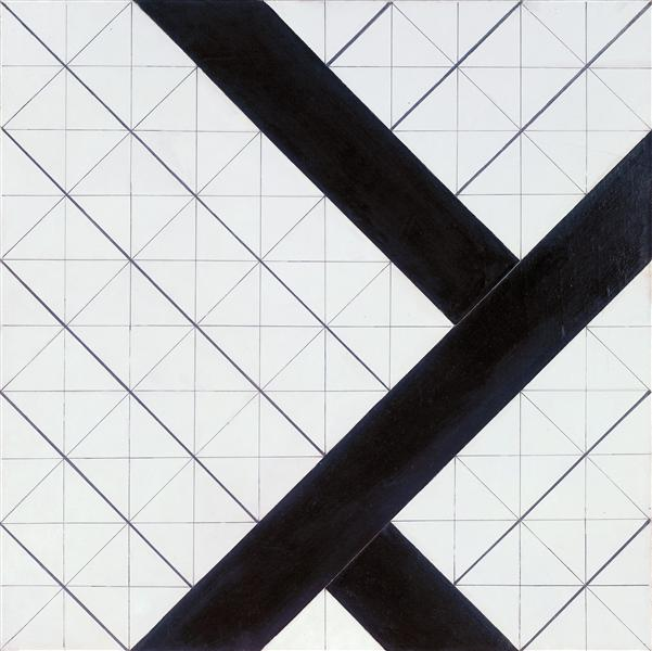 Counter composition VI, 1925 - Theo van Doesburg