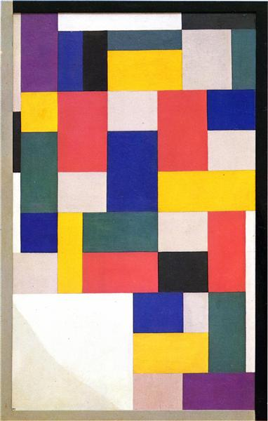 Pure painting, 1920 - Theo van Doesburg
