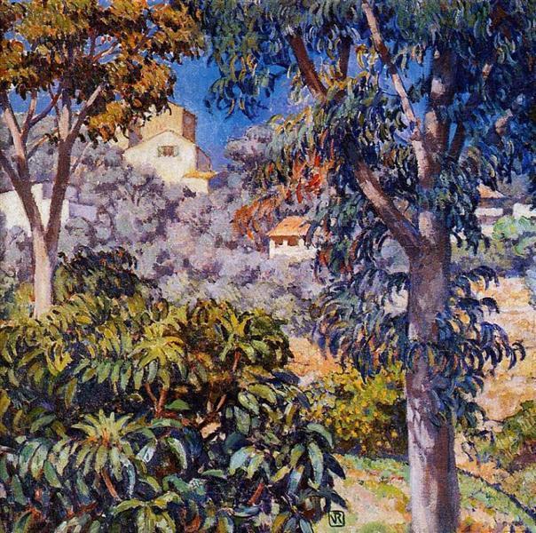 Noon Landscape, c.1921 - Theo van Rysselberghe