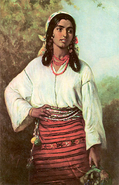 Gipsy Girl, 1884 - Theodor Aman