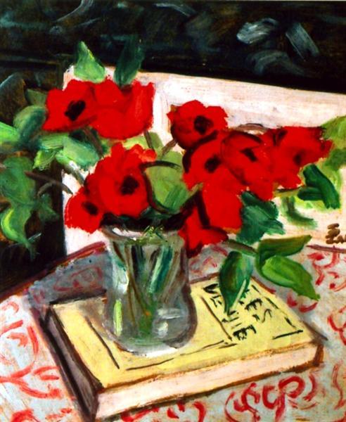 Red Flowers - Theodor Pallady