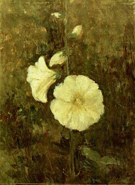 Rose Mallow - Theodor Pallady