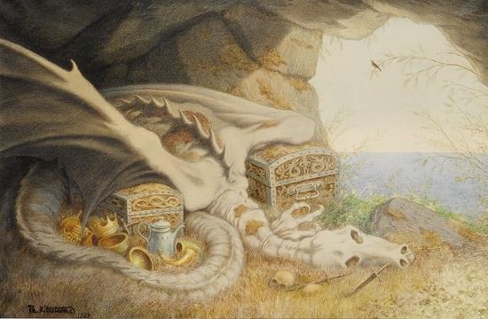 Dragon, 1892 - Theodor Kittelsen