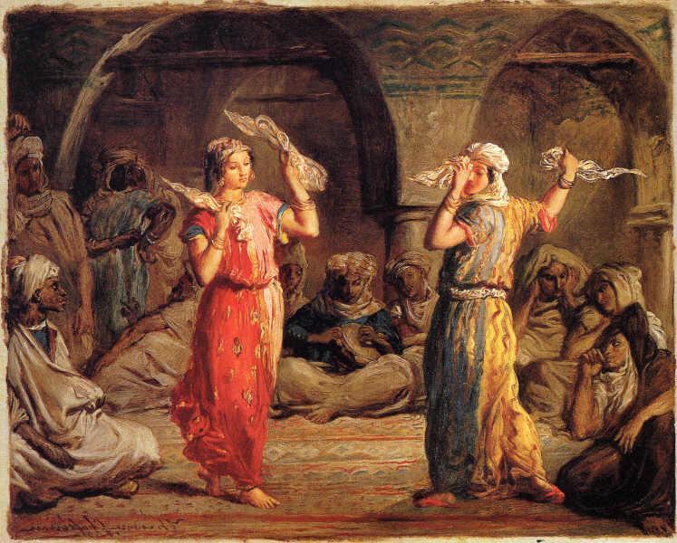 Moorish dancers, 1849 - Teodoro Chassériau