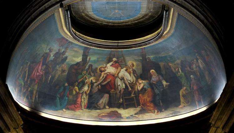 La Descente de croix, 1855 - Theodore Chasseriau