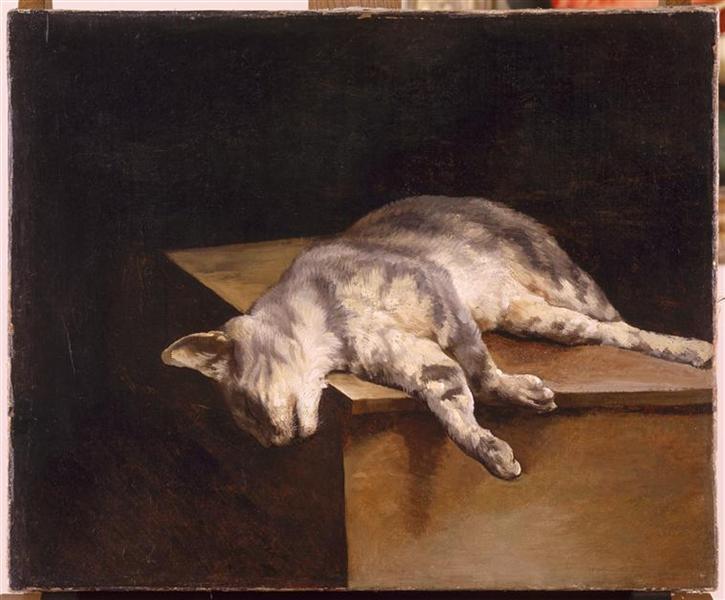 Dead Cat, 1821 - Théodore Géricault
