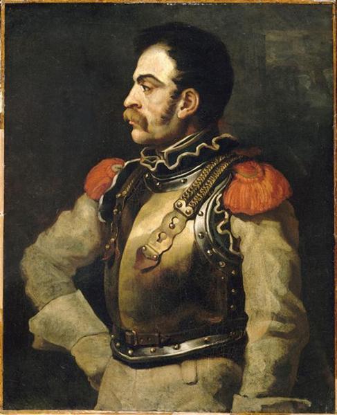 Carabinier, 1814 - Théodore Géricault