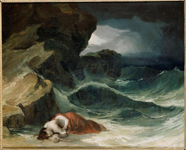 The Storm, or The Shipwreck - Théodore Géricault