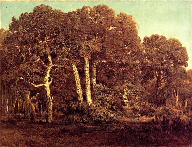 The Great Oaks of Old Bas-Breau, 1864 - Theodore Rousseau