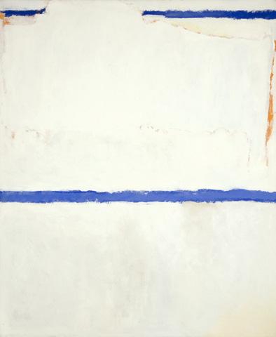 White Sun-Mound, 1963 - Theodoros Stamos