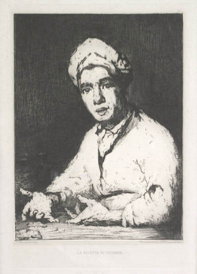 The Cook's Recipe, 1875 - Theodule Ribot
