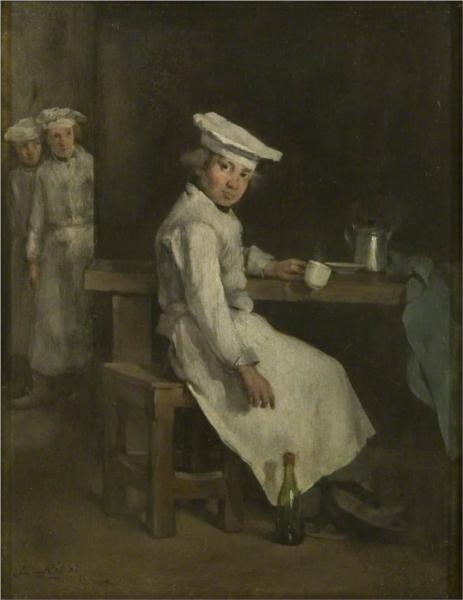 The Little Cooks, 1879 - Theodule Ribot