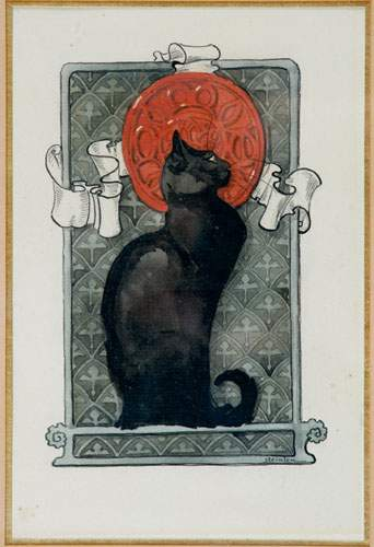 Black Cat - Theophile Steinlen