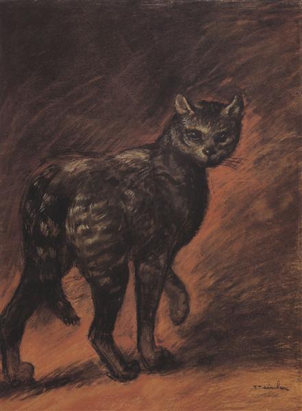 Cat, 1906 - Theophile Steinlen