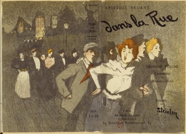 Dans La Rue, 1895 - Theophile Steinlen