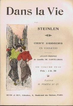 Dans La Vie prospectus, 1901 - Theophile Steinlen