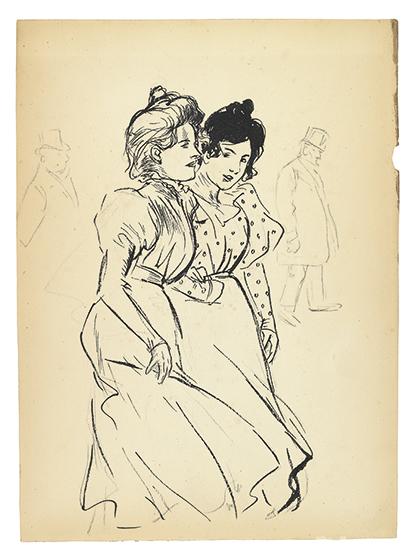 Deux Trottins-4056- - Theophile Steinlen